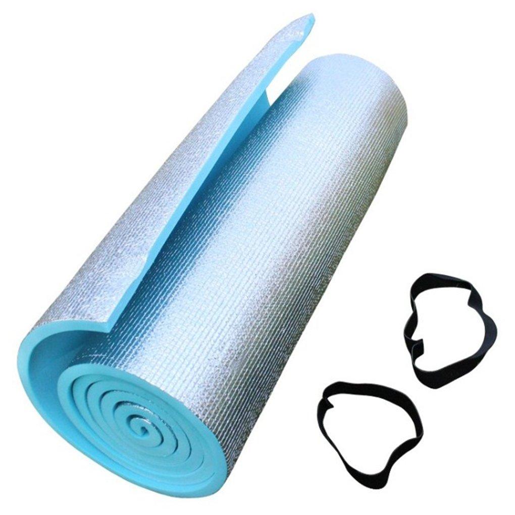 Luckiests Addensare Yoga Mat Singolo Camping Pellicola di Alluminio di Eva a Prova d'umidità Sleeping Mat