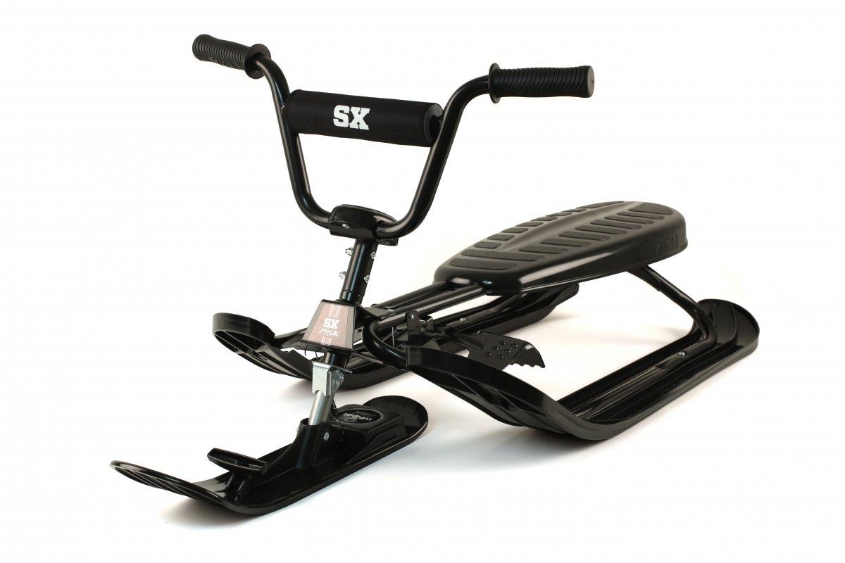STIGA Schlitten Snowracer SX Pro, Schwarz, 73-3388-01