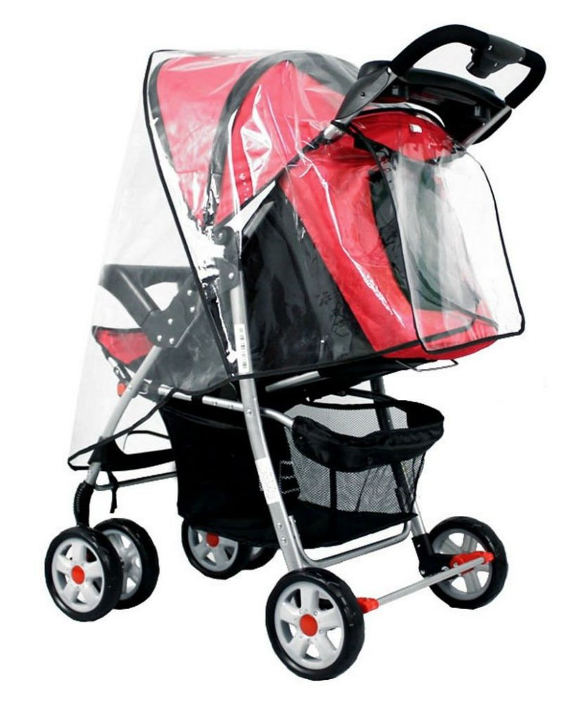 New Baby Trend Rain & Wind Snow Sleet Cover Single Jogging Stroller