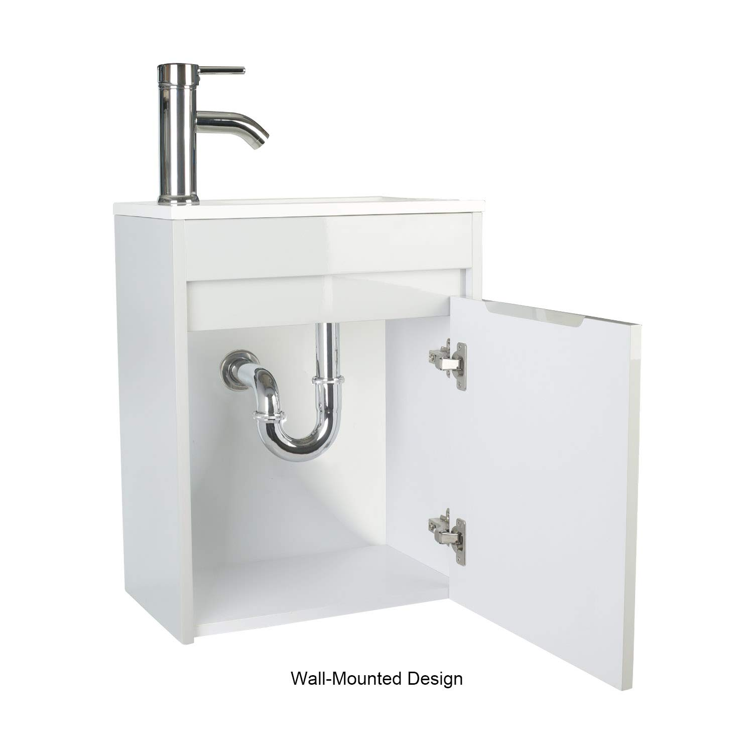 Amazon Com Eclife Bathroom Vanity W Sink Combo 16 For Small Space