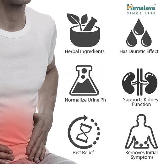 Cystone - Suplemento para la infección de vías urinarias y cistitis - Admite tratamiento de UTI - 840 mg 100 cápsulas - producto de Himalaya (desde ...