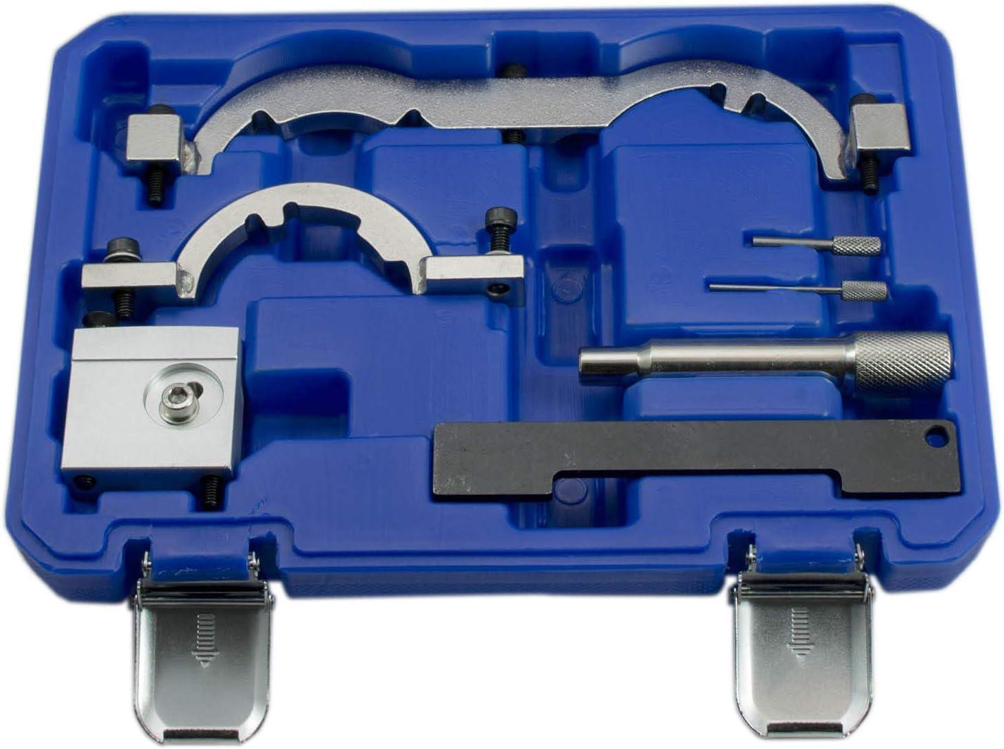 Albero a manovella Tempi di Controllo GEPCO Advanced Technology Attrezzo di Regolazione del Motore 8 Pezzi Blocco Albero a camme