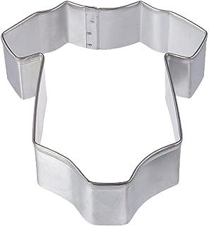 R M Baby Bodysuit Tinplated Onesie Sleeper Cookie Cutter 4 Inch