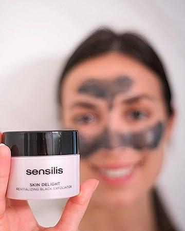 Sensilis Skin Delight - Peeling Negro Revitalizante con Vitamina C y Carbón Vegetal - 75ml