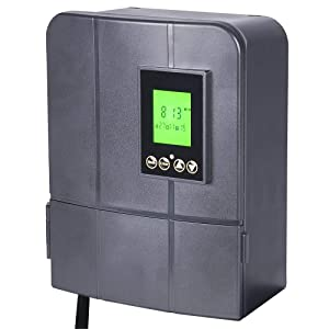 Paradise by Sterno Home GL33300 12V 300W Low Voltage Landscape Lighting Transformer with Dusk-to-Dawn Timer