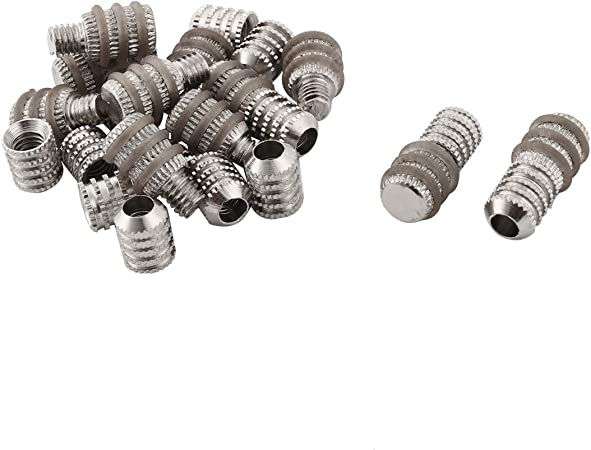 20 x Metal Shelf Holders 5*15mm//5*19mm Cabinet Furniture Support Pin Studs Pegs