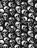 Hydrographics Film -Water Transfer Printing Film - 1.6FT Width (1.6FTX6.6FT) Real Skulls - Water Transfer Film