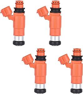 Fuel Injectors 4pcs/Set CDH210 for Yamaha Outboard 115 HP, Chevy Tracker/Mitsubishi Eclipse Galant Mirage/Suzuki Vitara