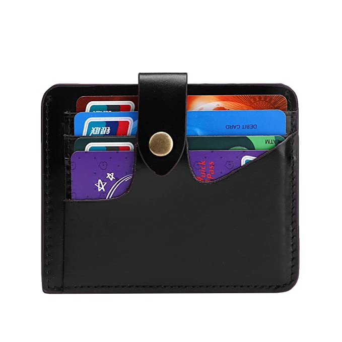 2a3853322ec7 Yafeige Women s RFID Blocking Small Compact Leather Credit Card Holder  Pocket Wallet Ladies Mini Purse(