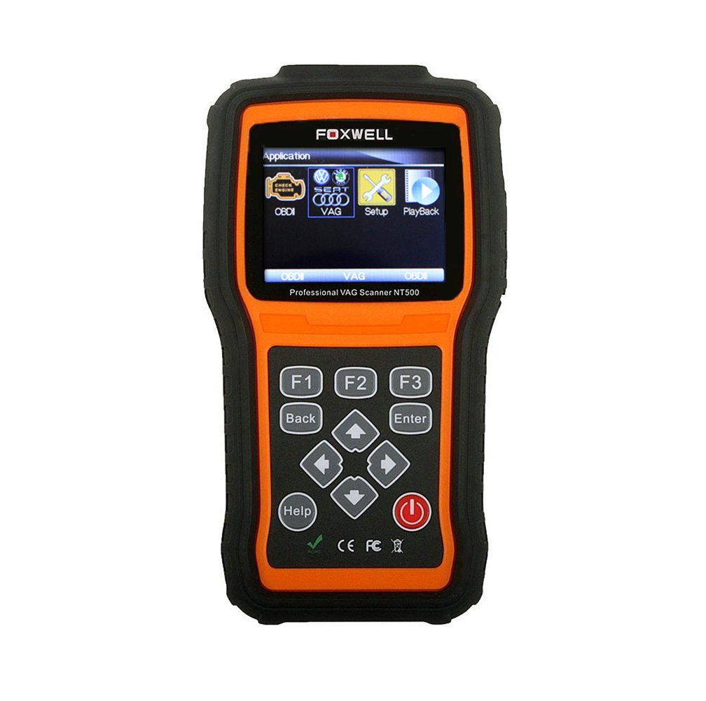 Foxwell Nt500 VAG All System Diagnostic Scan Tool with Oil Light EPB Service Functions for AUDI/VW/SEAT/SKODA