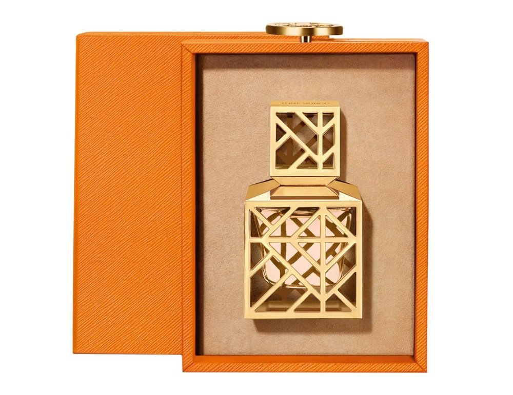 Tory Burch Limited Edition Pure Perfume .5 oz Collectible Bottle