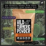 Raw Turmeric Powder, Made From Organically Grown Turmeric Root, Contains Circumin, Single-origin, 100% Natural by Wild Foods Co