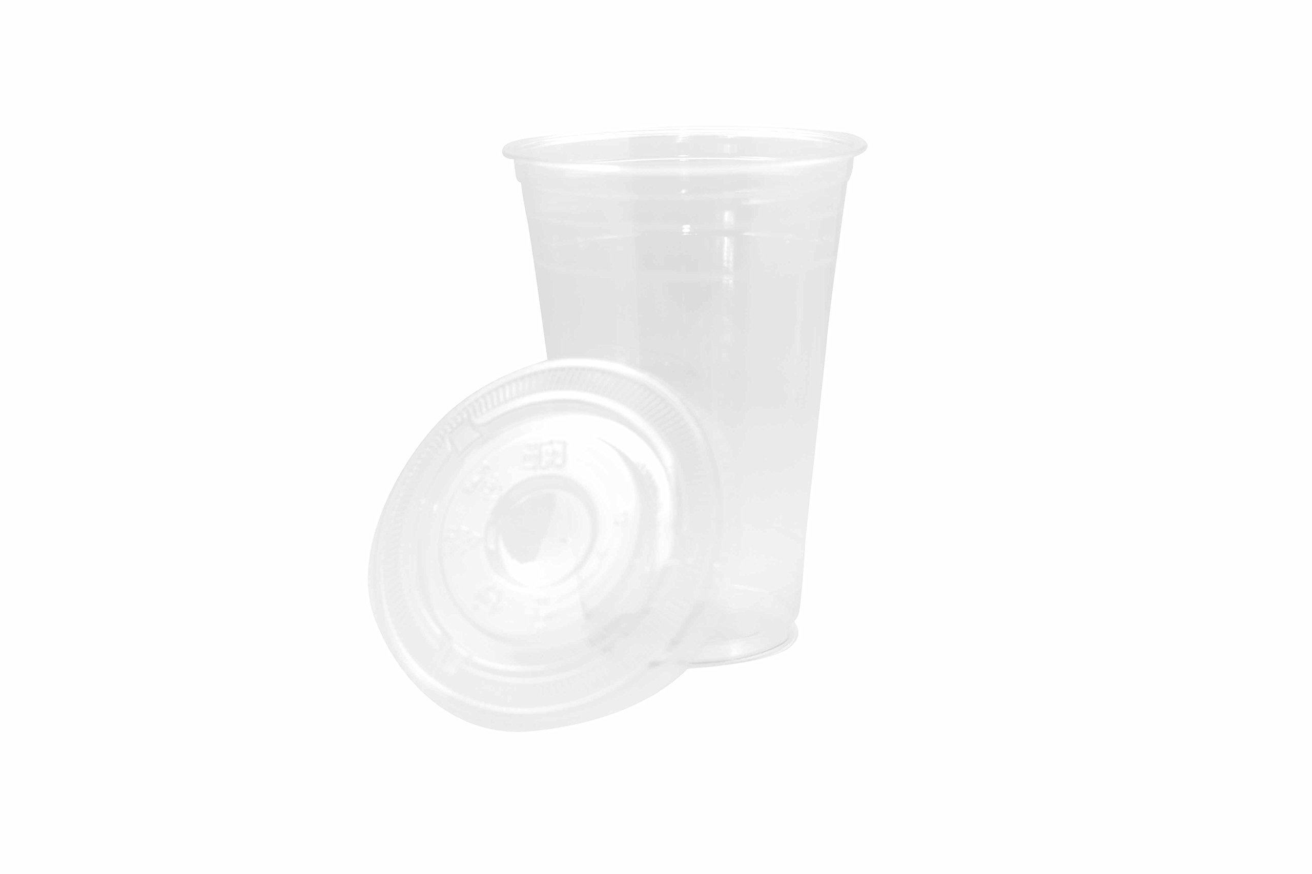 20oz Clear Plastic Disposable Cups with Flat Lids- Large Premium 20 oz (ounces) Crystal Clear PET Cup for Cold Drinks Iced Coffee Tea Juices Smoothies Soda Cocktails Beer Sundae Kids Safe (1000 Count)
