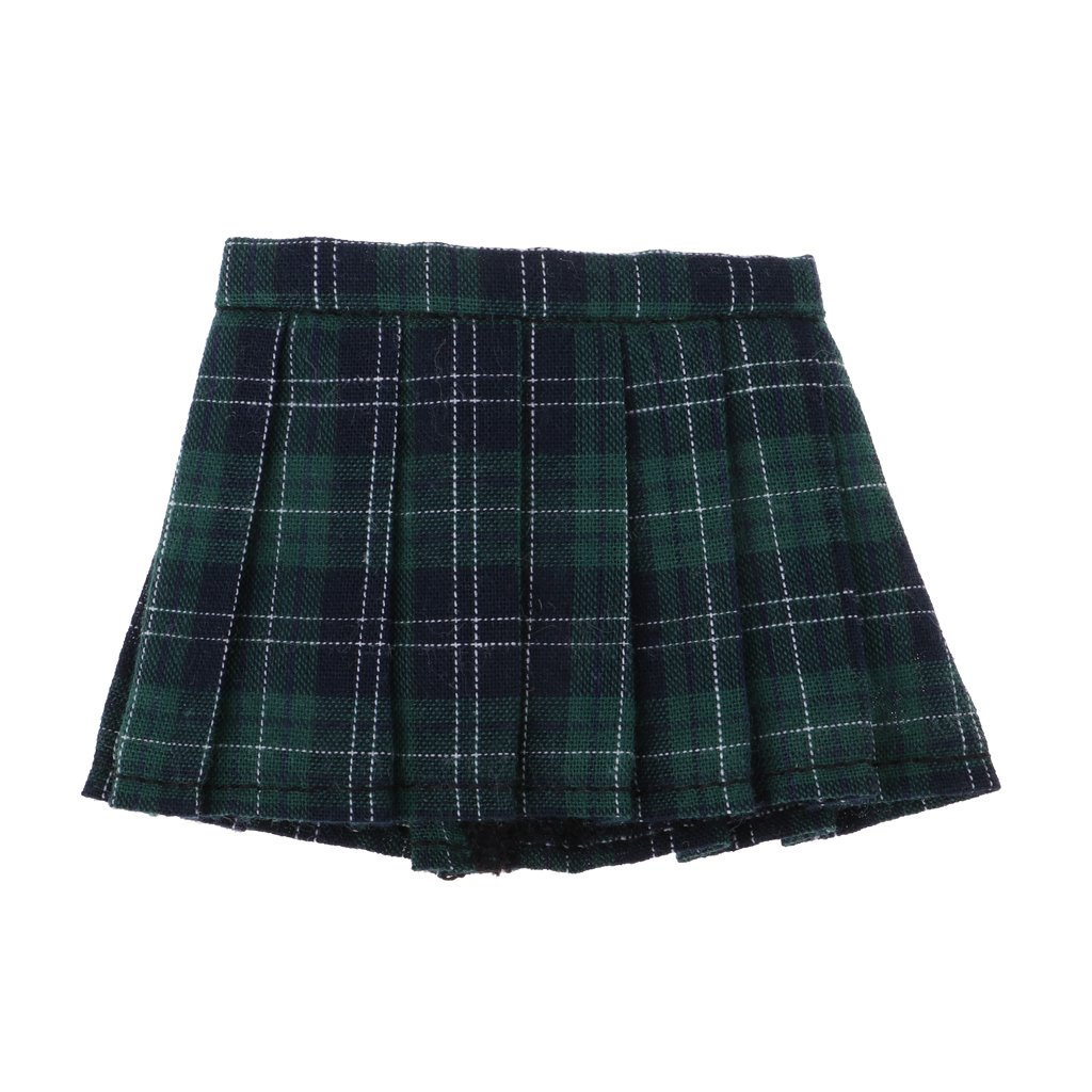 School Style Pleated Skirt JK Uniform for 1//6 BJD LUTS DOD MSD DZ Dolls Clothes