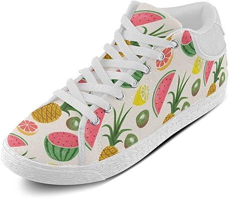 Lemon Lemon Gifts Lemon Lover Lemon Women Shoes Lemon Canvas Shoes Lemon Shoes Shoes With Lemon