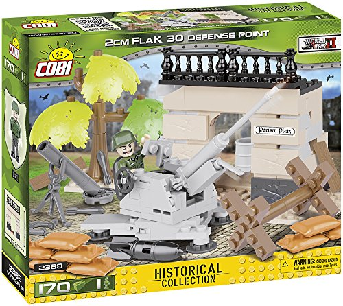 (COBI Historical Collection 2cm Flak 30 Defense Point Vehicle)