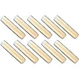 10本リップスティックコンテナ、手作り口紅容器 プラスチック製 空チューブ 口紅チューブ用 DIY用 6色選べる