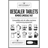 Descale Keurig, Nespresso, Delonghi, Espresso Makers and other Coffee Machines with Coffee Vault Descaler Tablets
