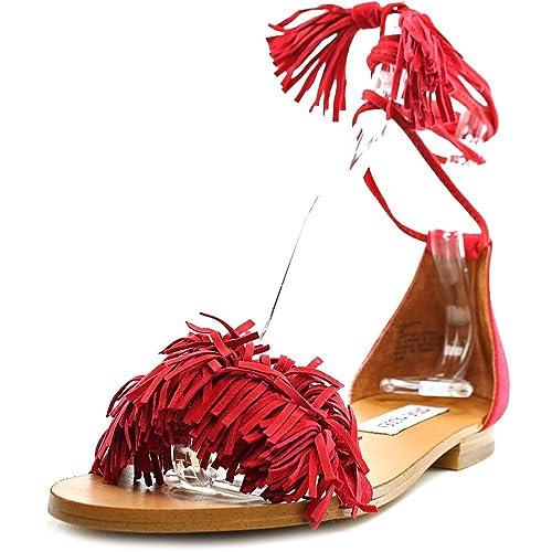e5c30f67be4 Amazon.com | Steve Madden Women's Sweetyy Flat Sandal | Sandals