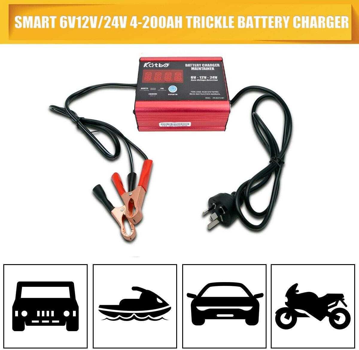: Sunwan Chargeur de batterie 12 V24 V pour