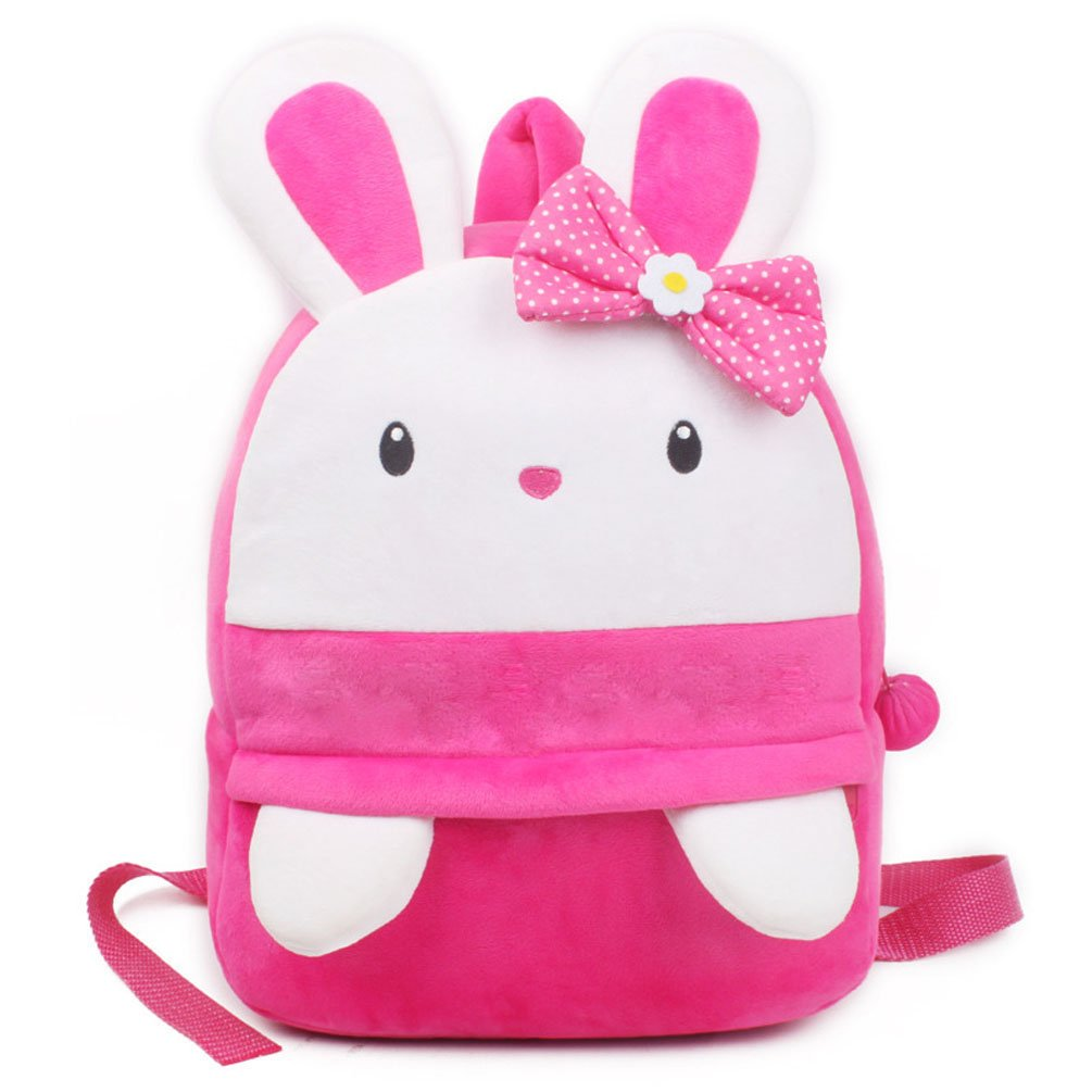29b551c69b Amazon.com   Baby Girl Toddler Rabbit Backpack Rucksack
