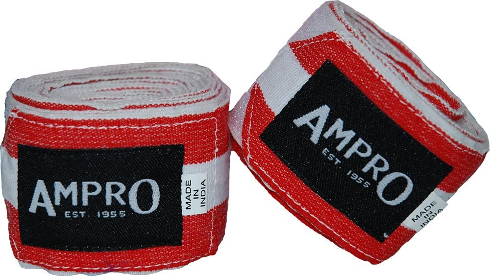 Professionelle Handwickel 3m 4.5m KOSTENLOSE Tragetasche Boxen MMA Erwachsene elastische Bandagen