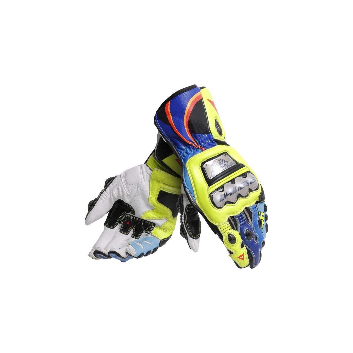 Dainese Full Metal 6 Replica Gloves (MEDIUM) (VR46)
