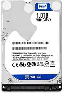 WD 2016 New Blue 1TB 2.5 inches Laptop Notebook Internal SATA 6Gb/s Hard Drive 9.5mm Height 5400RPM Model WD10JPVX