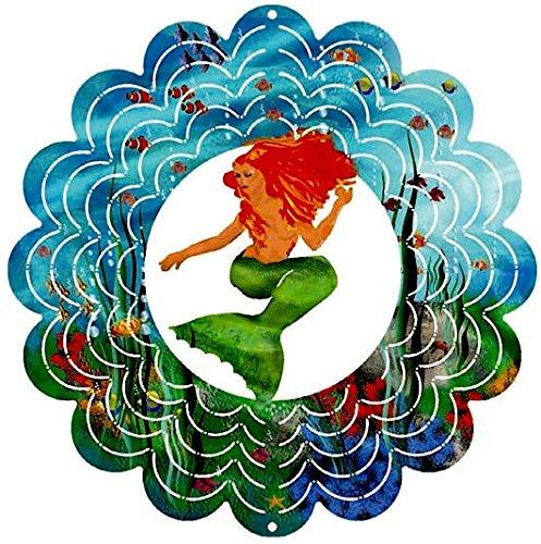 Eycatchers Reflective Mermaid Wind Spinner 12