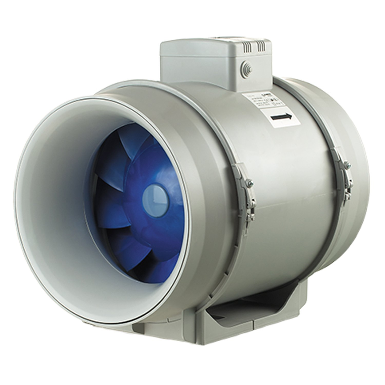 1/grau grau TURBO-315 Blauberg UK TURBO-100/Blauberg Turbo gemischter Einbauabluftventilator 100/mm