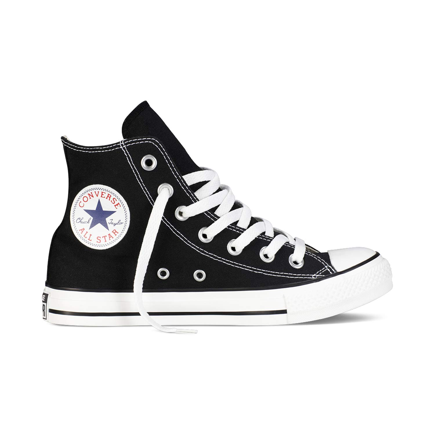 Converse Chuck Taylor All Star High Classic CTAS Hi Womens Mens Unisex Sneakers Canvas Sneaker Sport Shoes with 7kmh Sticker