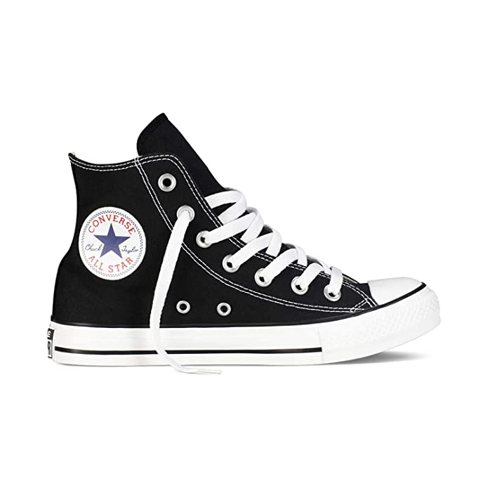 Converse Chuck Taylor All Star High Top Sneakers Damen Herren Unisex Schwarz