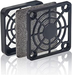 Wathai 2 Pack 40mm PC Fan Dust Filter PC Cooler Fan Filter Dustproof Cover Computer Case Mesh