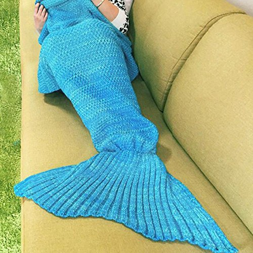 Fans Mermaid Tail Blanket Crochet and Mermaid Blanket for adult