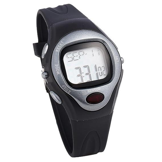 lt-select nuevo color gris pulsómetro reloj - mejor para hombres y ...