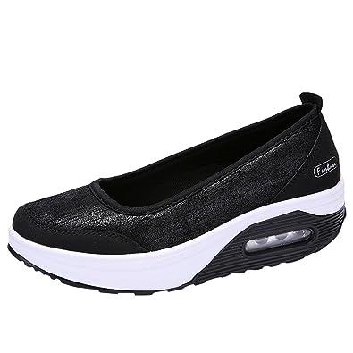 Verano Sandalias Y Chanclas, Winwintom 2018 Plataforma Zapatos Mujer Zapatillas Sneaker CuñA Summer Mesh Plataforma Sandalias Zapatos para Caminar para ...