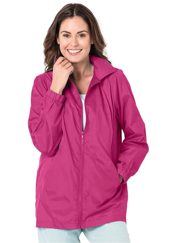 Women's plus windbreaker jacket