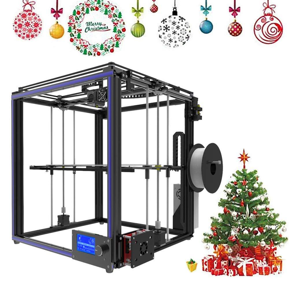 TRONXY X5S 3D Drucker Kit DIY Aluminium 330 x 330 x 400mm Groß e Druckgrö ß e High Precision Reprap Professional 3D printer Mit Dual Z-Achse Blackpoolal