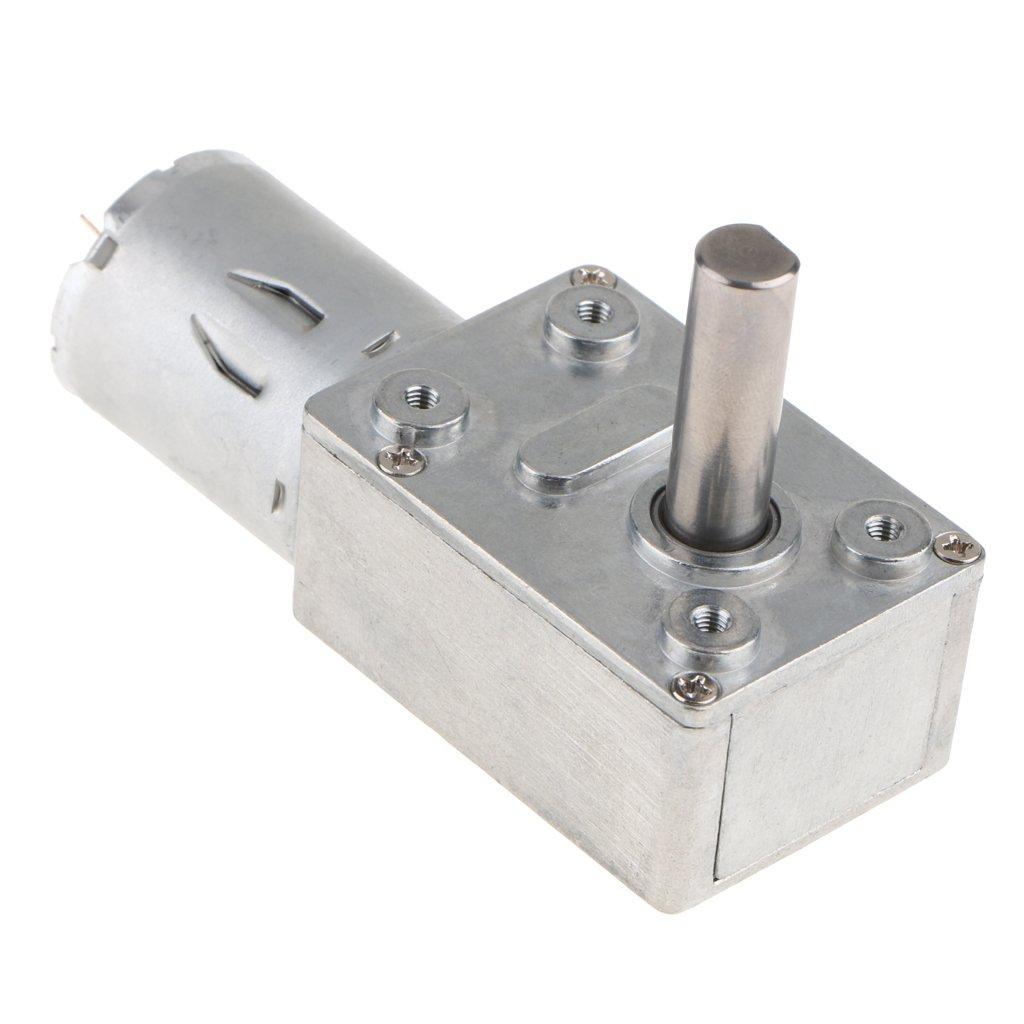 Baoblaze Motor Turbo de Alto Par Accesorios con Qusano de Micro-turbina Ampliamente Utilizado Duradero - 6V-10RPM: Amazon.es: Bricolaje y herramientas