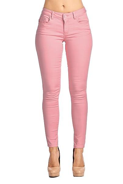 Amazon.com: BLUE AGE jeans ajustados de denim y algodó ...
