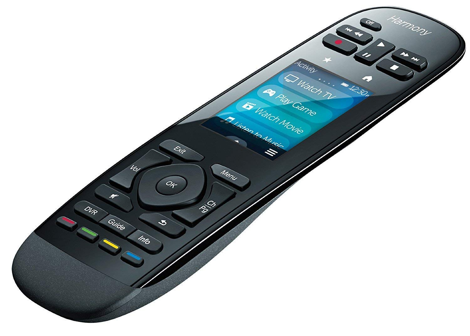 Logitech Harmony 2019 Ultimate One Universal Infrared Remote with Customizable Touch Screen Control up to 15 Devices Swipe and Tap Color Touchscreen 50 Favorite-Channel Icons-Harmony Hub Supported by Logitech (Image #3)