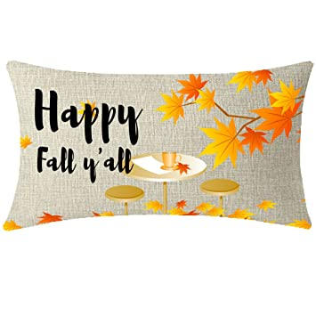 Amazon.com: ITFRO Happy Fall Yall Golden otoño cosecha ...