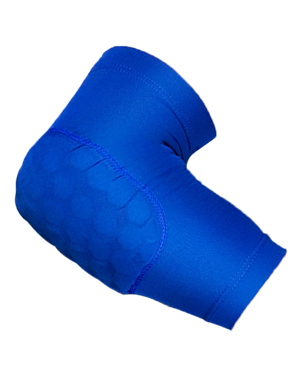 LANBAOSI Arm Compression Sleeve Training Elastic Elbow Brace With Padding SL430-Red-M