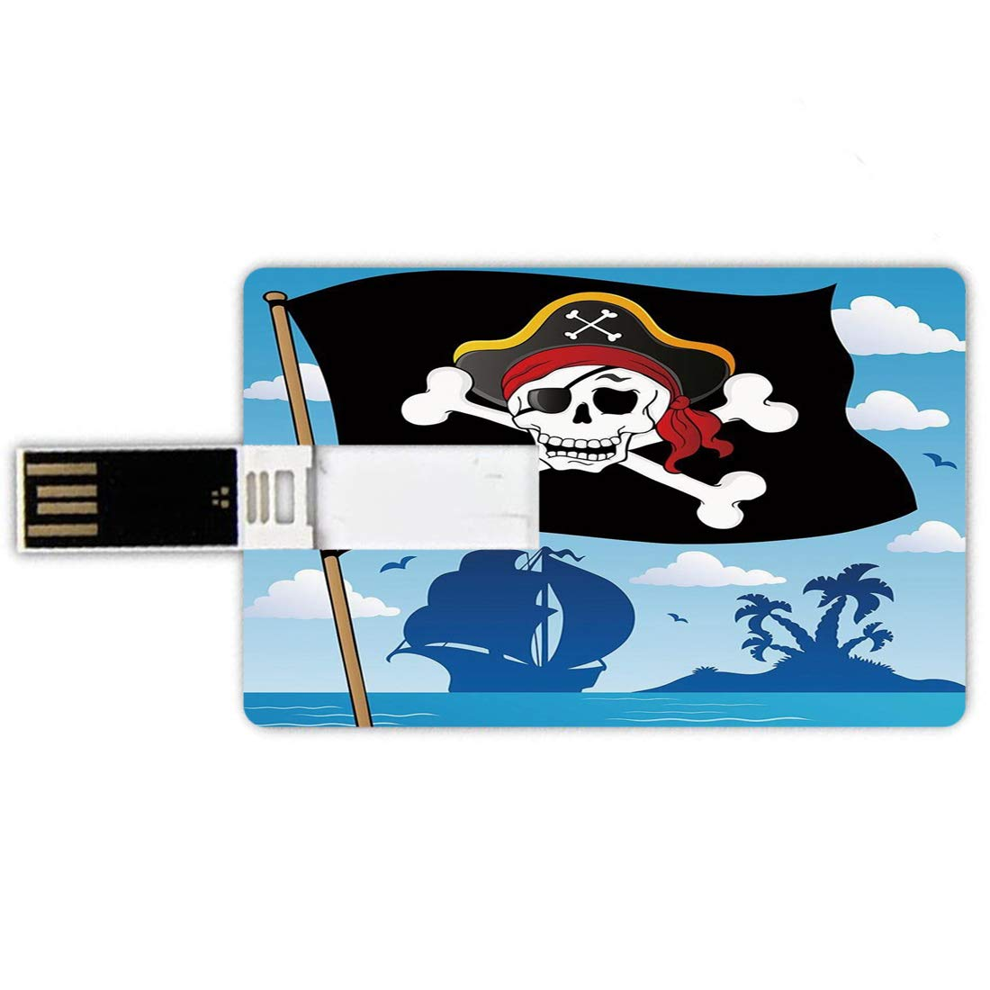 64GB Forma de tarjeta de crédito de unidades flash USB ...