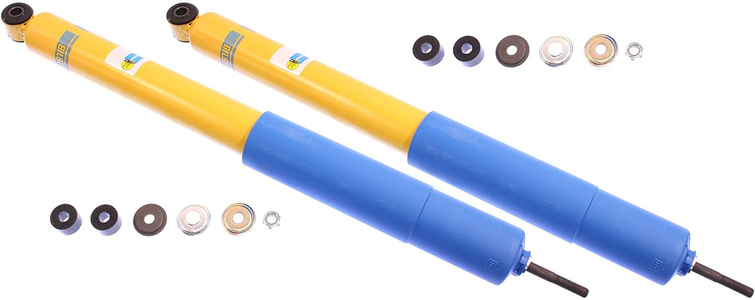 NEW BILSTEIN FRONT /& REAR SHOCKS FOR 05-13 TOYOTA TACOMA PRERUNNER /& 4WD BASE 2005 2006 2007 2008 2009 2010 2011 2012 2013 4600 SERIES 46MM SHOCK ABSORBERS