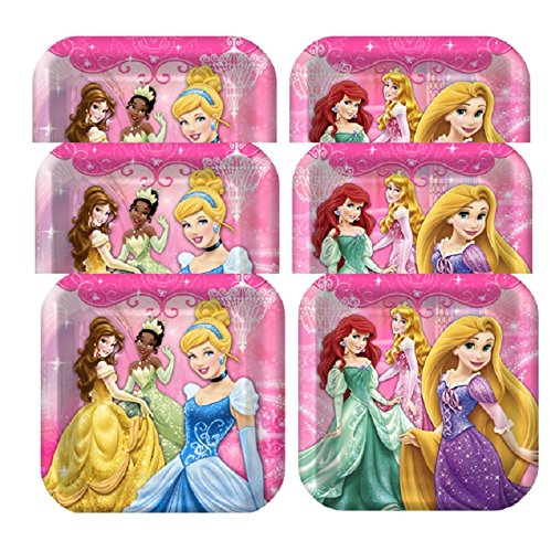 Disney Very Important Princess Dream Party Dinner Plates - 24 Pieces by Hallmark