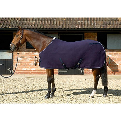 Mark Todd Coolex Cooler Rug (6ft 6) (Navy/Silver)