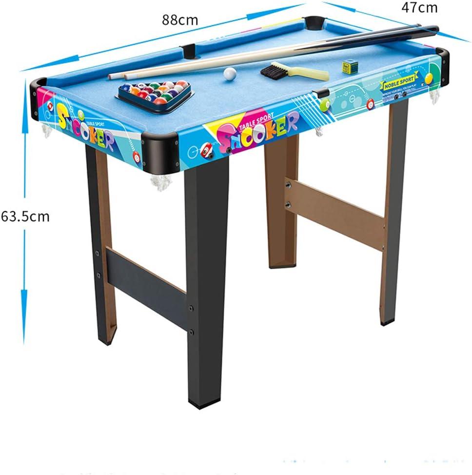 ANNA-Geschenk Anna de Regalo Plegable 88 * 47 * 63.5 cm Mesa de Billar Mesa de Billar Snooker Mesa Parte el Mini de Billiard Compone el Billiard Cue, el Billiard Ball, de