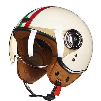 Off-Roady Casco de la Motocicleta Casco de la Demostración de la Vespa de la
