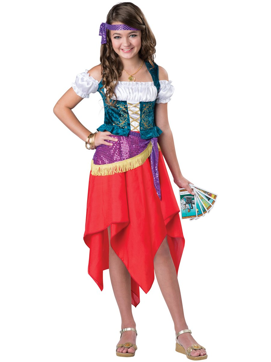 InCharacter Costumes Mystical Gypsy Costume, One Color, Size 6